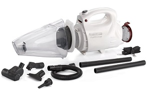 Black and Decker VH802 800-Watt Vacuum Cleaner and Blower with 8 Attachment for Rs.2249 Only (Limited Period Offer)