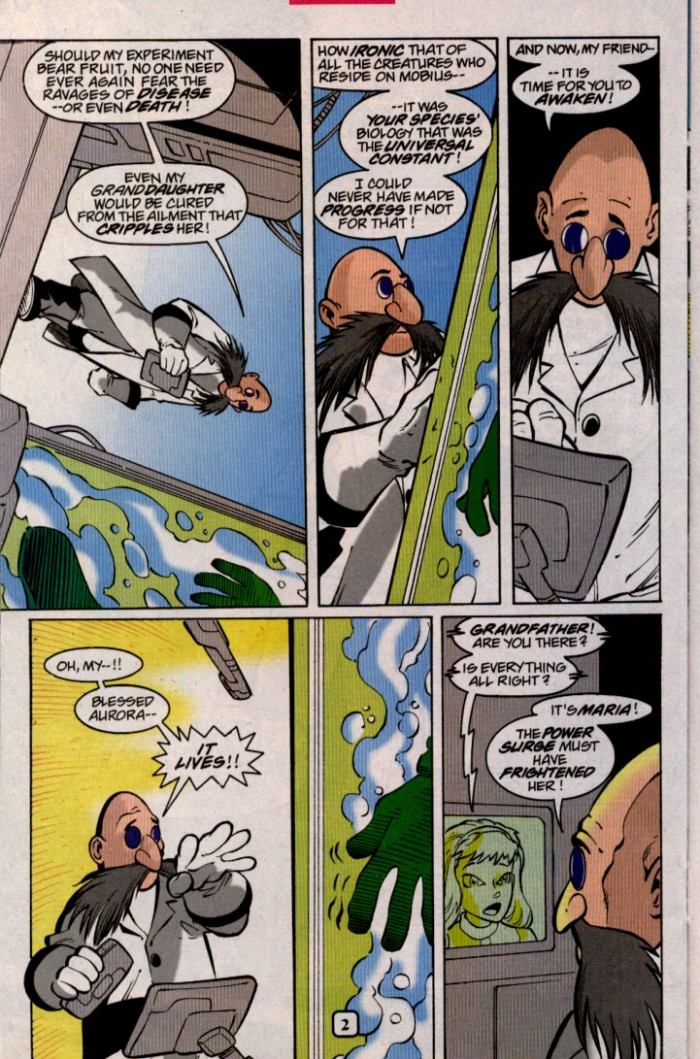Read online Sonic The Hedgehog comic -  Issue #98 - 20