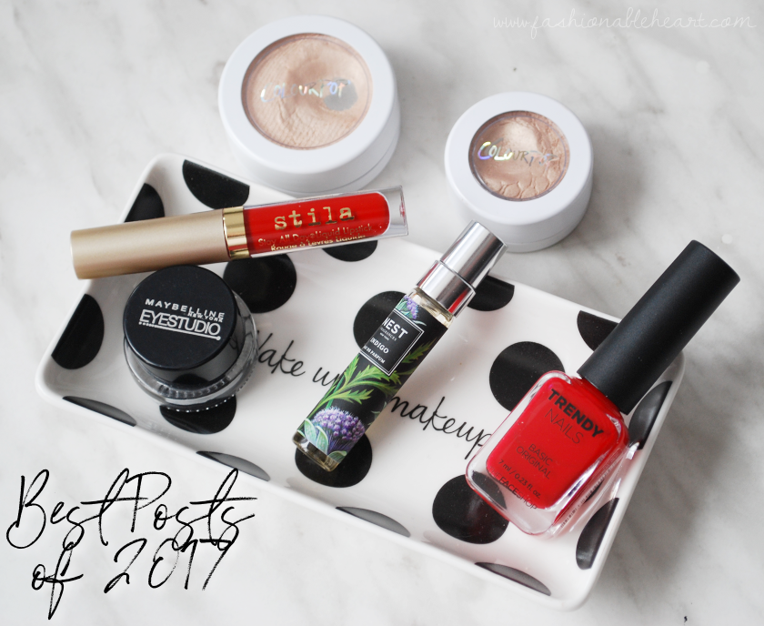 bbloggers, bbloggersca, canadian beauty bloggers, lifestyle blogger, beauty blog, best posts of 2017, favorite posts of 2017, makeup, skincare, reviews, swatches, fashion, toronto blogger, stila, maybelline, gel liner, liquid lipstick, nest indigo, thefaceshop, trendy nails, colourpop, super shock shadow