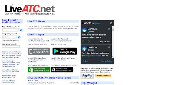 LiveATC.Net Aashcharyajanak Upayogee Website