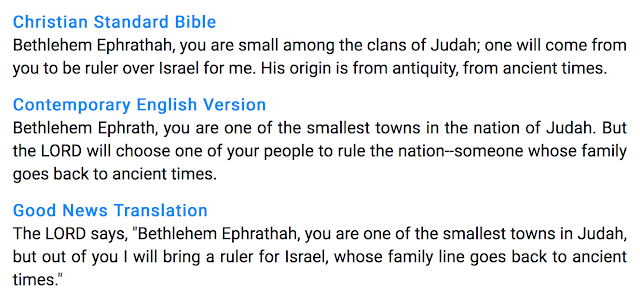 The Truth, The Confusion and The Deception of  Micah 5:2.