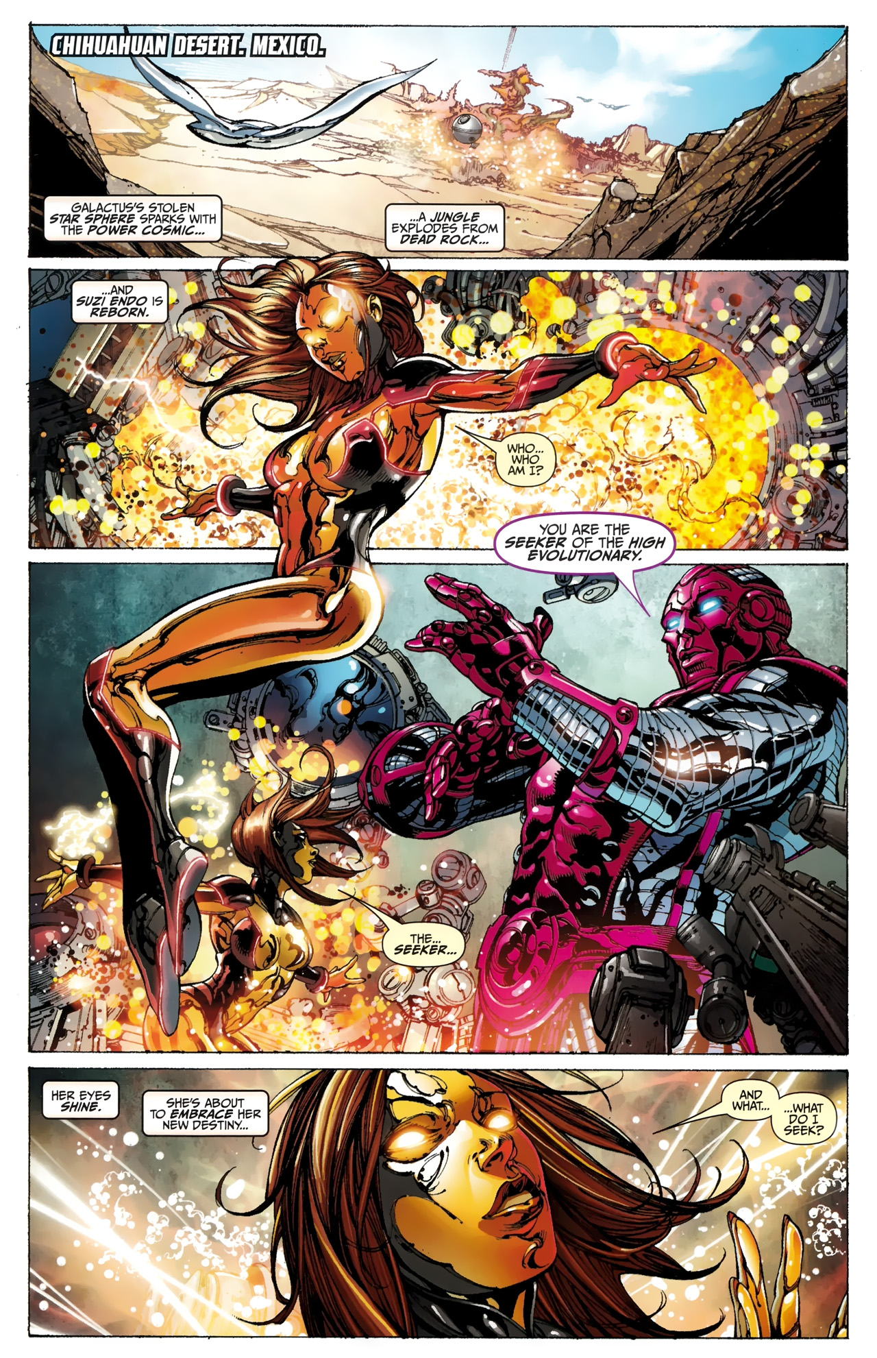 Read online Silver Surfer (2011) comic -  Issue #4 - 3