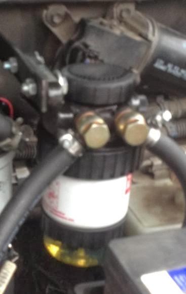 дополнительный топливный фильтр для дизеля