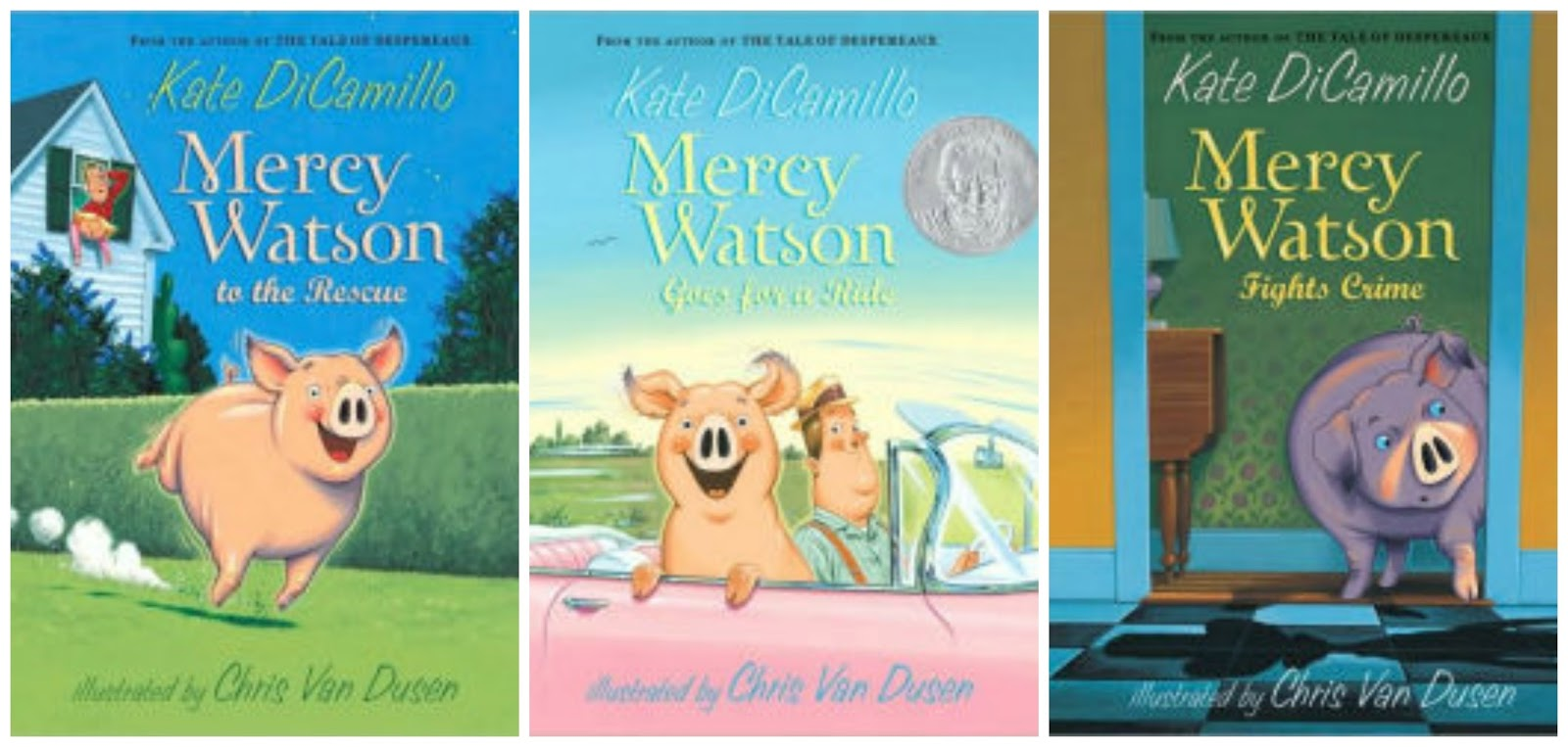 Randomly Reading: Happy 10th Anniversary, Mercy Watson!