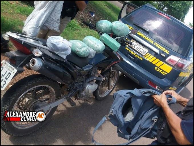 Chapadinhenses são presos pela Polícia Federal com 8 kg de maconha que possivelmente seriam distribuídos em Chapadinha.