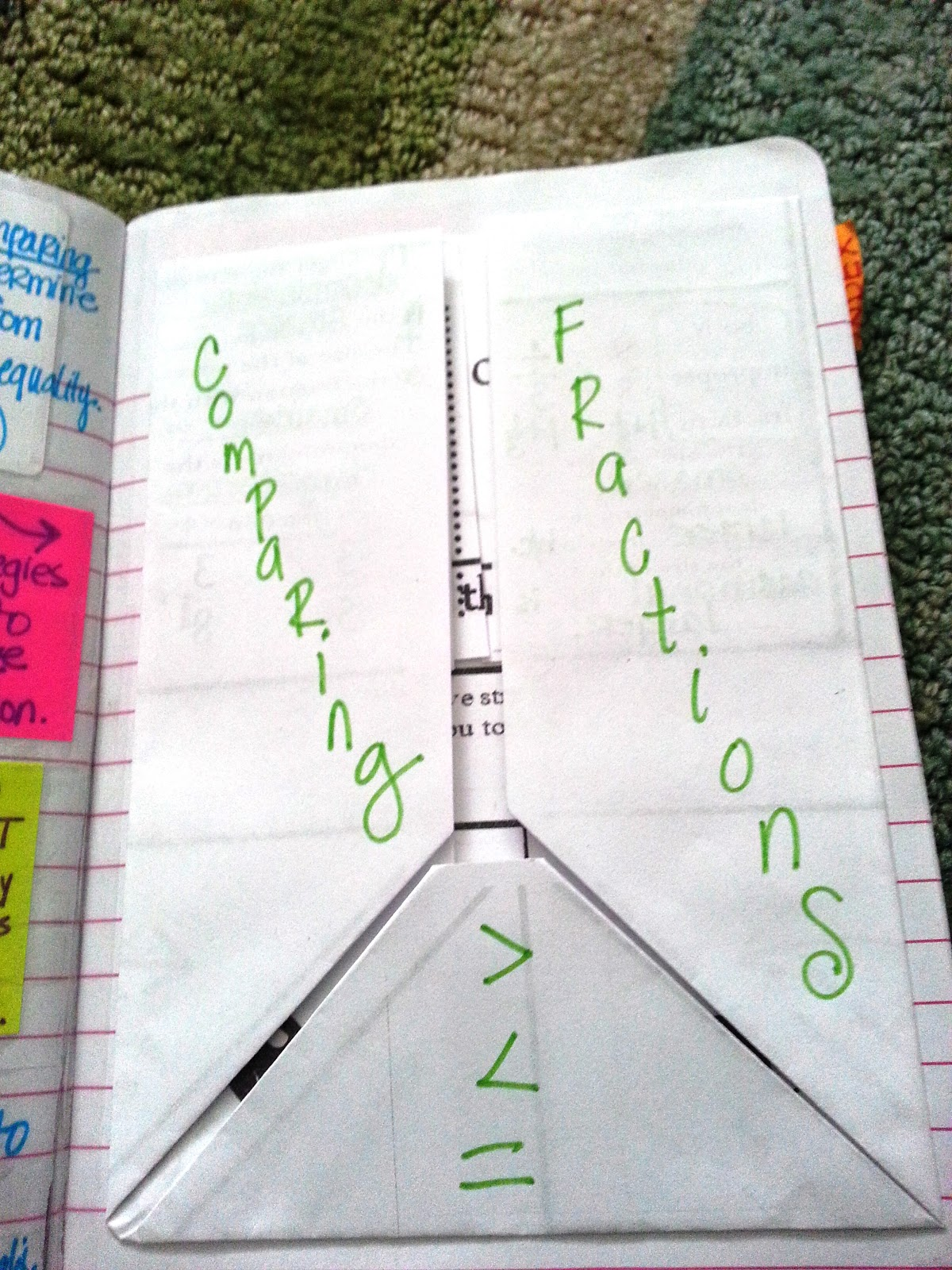 I Ve Got A Foldable For That Comparing Fractions