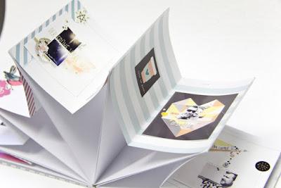 Minialbum Sternenalbum aus Project Life Karten