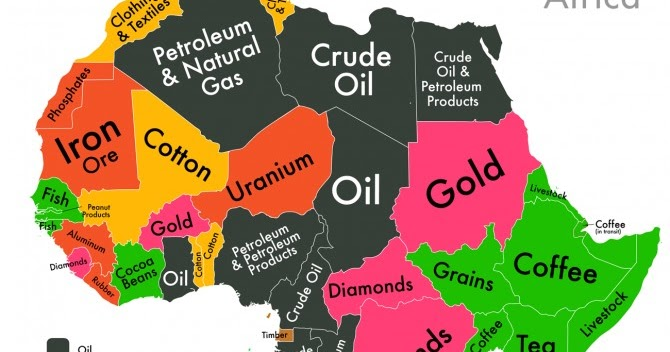 Map Of Africa Natural Resources.Ivory Coast Ivory Coast Natural Resources