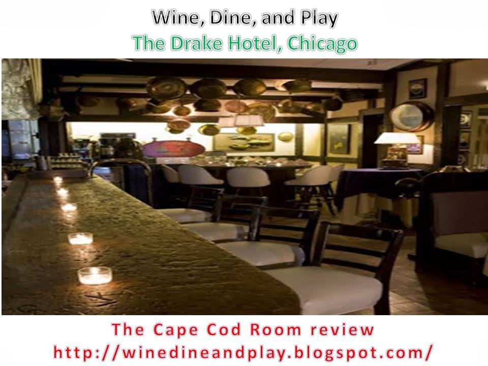 Wine Dine And Play Cape Cod Room Restaurant