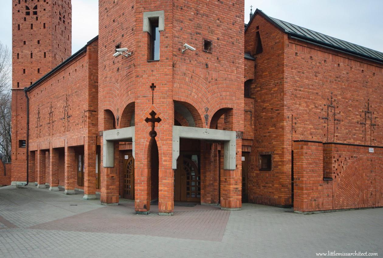 architekt Stanisław Niemczyk, kościoły, Czechowice-Dziedzice