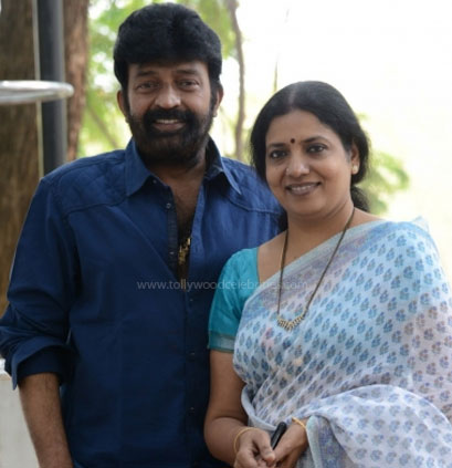 Rajasekhar and his wife: