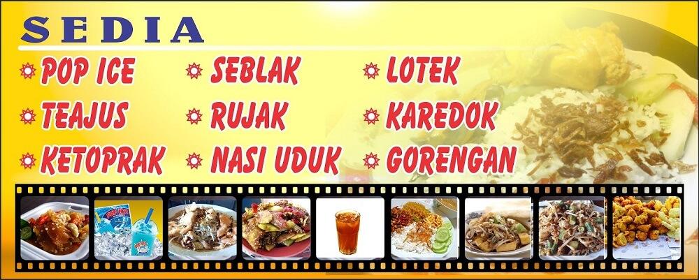 Contoh Desain Banner Baliho Makanan Yang Menarik cdr