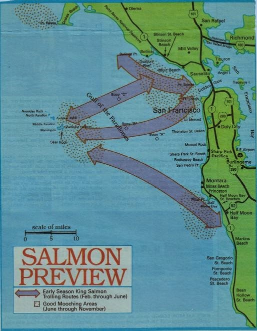 how to fish california ocean, hunting fishing maps and reports california and oregon