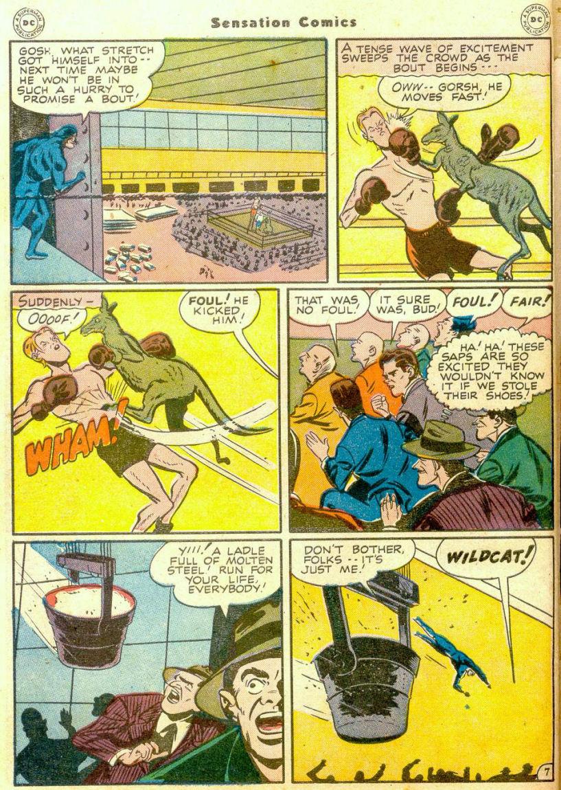 Read online Sensation (Mystery) Comics comic -  Issue #65 - 47