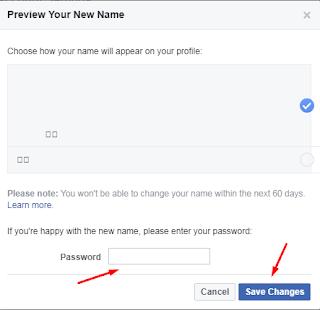 Tutorial Membuat Akun Facebook Tanpa Nama / Blank Name 6
