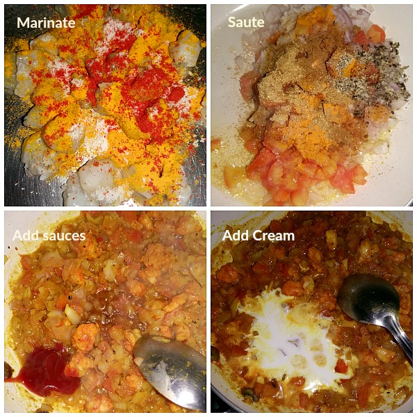 Step by Step pictures of how to make Stuffed Peppers