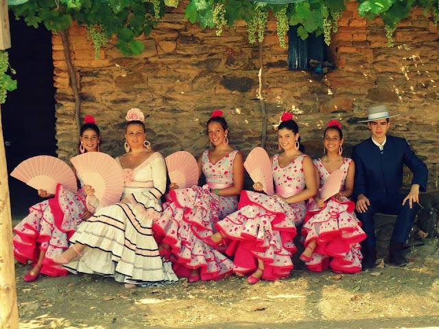grupo flamenco de Ana Castilla. Barranco