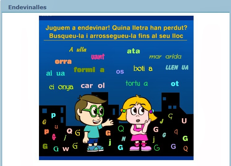 http://www.edu365.cat/primaria/muds/catala/endevinalles/index.htm