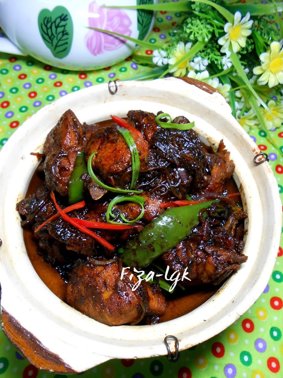 Ayam Masak Kicap Lada Hitam