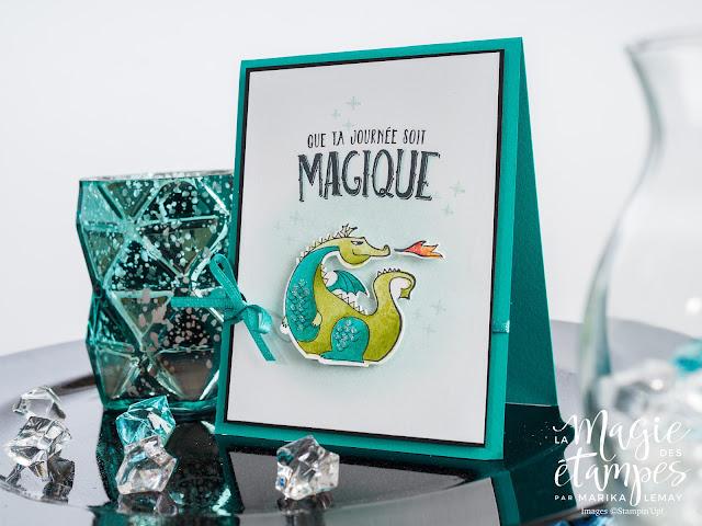 Carte pour enfant Stampin' Up! faite avec le jeu d'étampes Journée magique