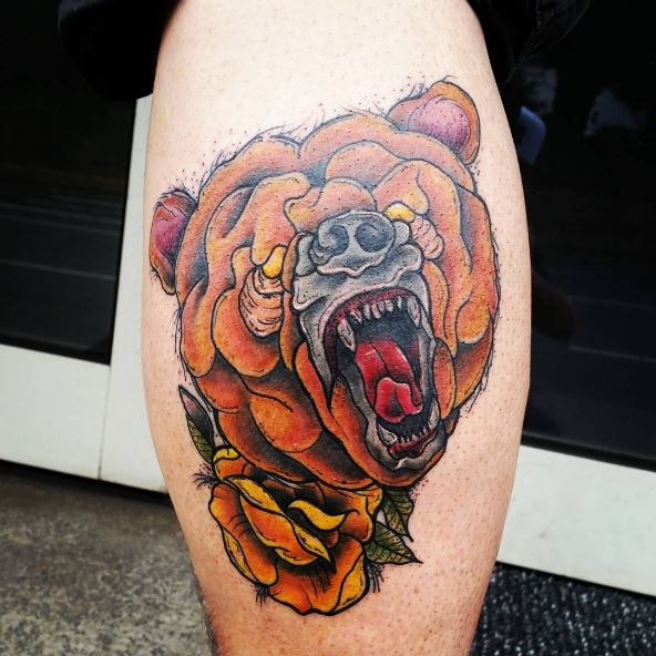 d91c68fb5 50 Amazing Bear Tattoos Designs and Ideas (2018) | Tattoo Ideas