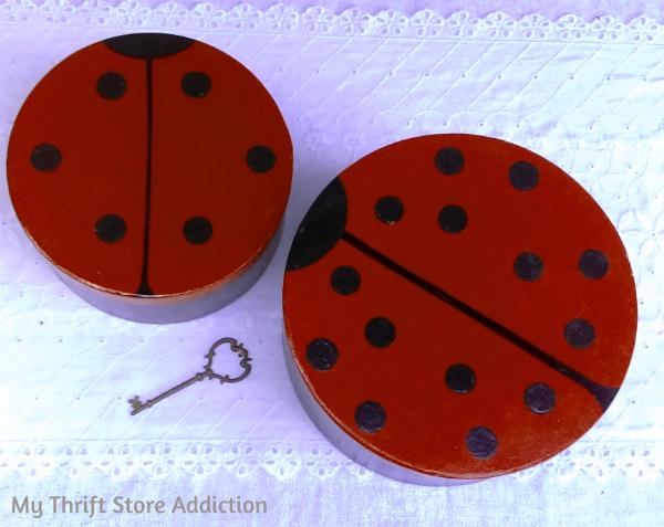 Ladybug boxes