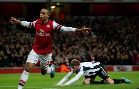 Theo Walcott fastest football players