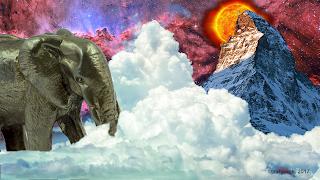 Стальной слон и две вершины