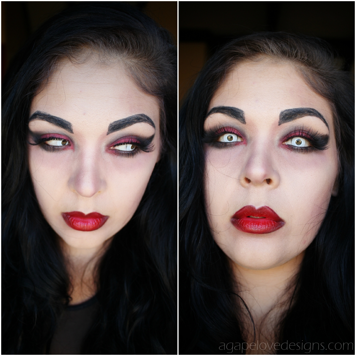 We Can't Get Enough of This Easy Vampire Makeup Tutorial for Halloween. You, too, can recreate this bloodsucking beauty routine.