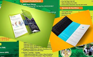 Template Brosur 3 Lipat - Edit Menggunakan Photoshop Gratis Download