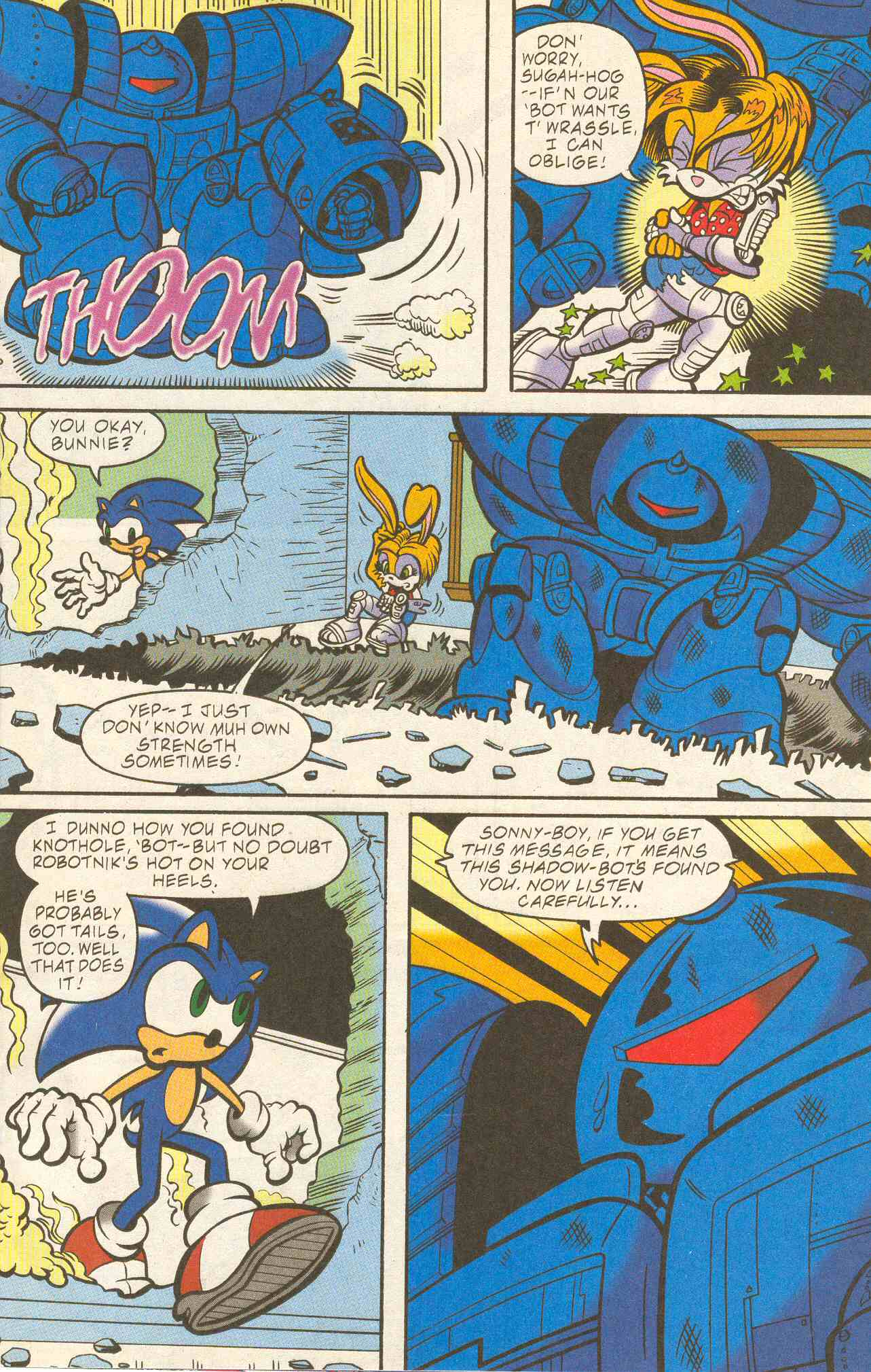 Read online Sonic The Hedgehog comic -  Issue #96 - 13
