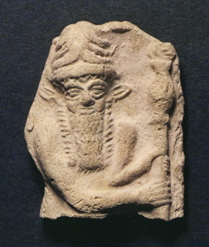 Epopeya de Gilgamesh: Enkidu y la ramera
