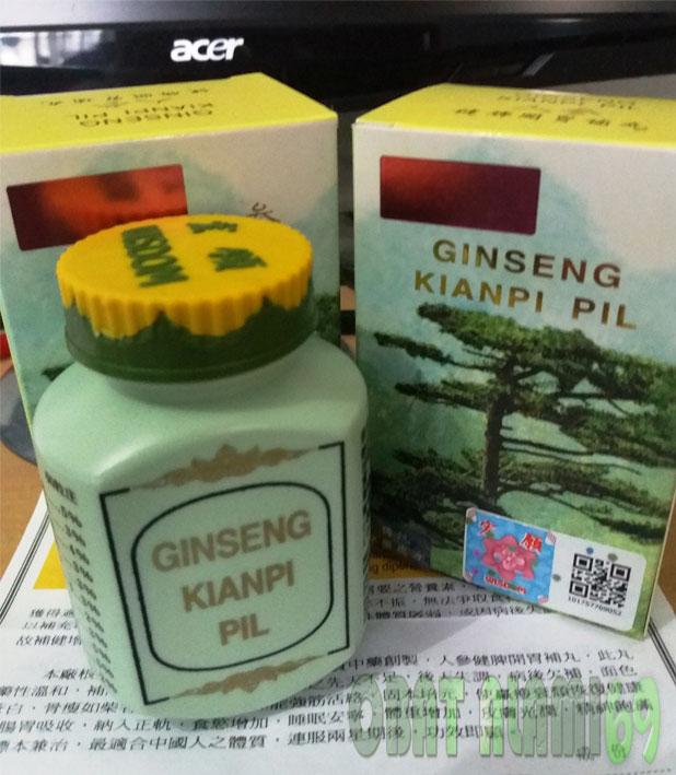 Obat Herbal Penggemuk Badan Ginseng Kianpi Pil Wisdom Asli