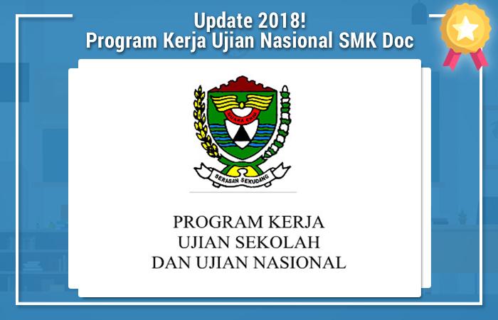 Program Kerja Ujian Nasional SMK Doc
