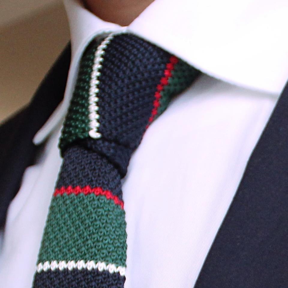 JadeBlue Style Tip Knitted Ties ~ Men's Fashion Wear