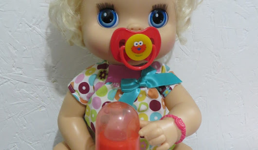 Baby Alive Custom Made Bottles & Pacifiers - So Cute!
