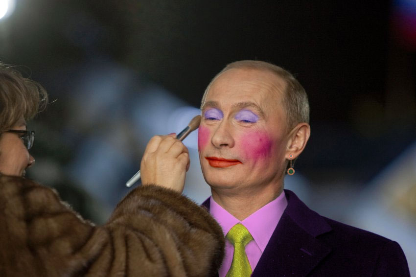 f9727d6a4be Russia bans images of Putin linked to 'gay clown' meme.