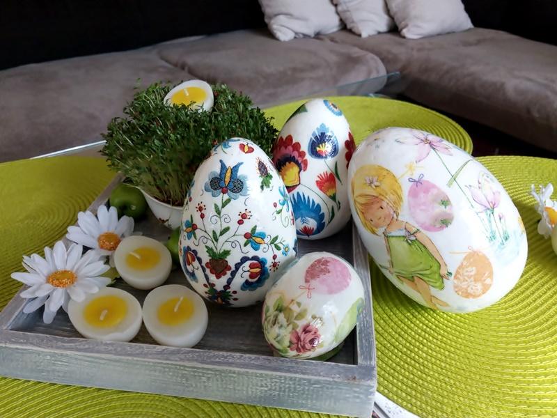 Zdobienie jaj, dekoracje