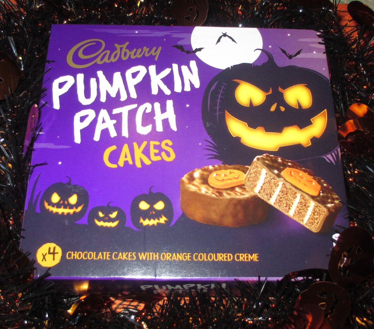 FOODSTUFF FINDS Cadbury Pumpkin Patch Cakes Morrisons By Cinabar
