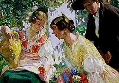Victor Moya Calvo, Pintor español, Pintores Valencianos, Retrato de azules, Retratos de Victor Moya Calvo, Pintor Valenciano, Pintura Valenciana,