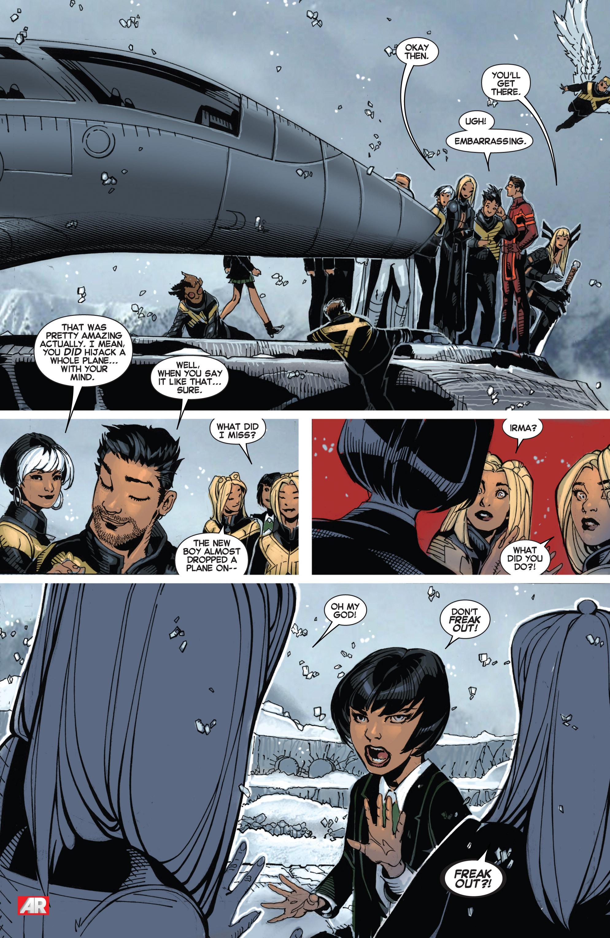 Read online Uncanny X-Men (2013) comic -  Issue # _TPB 2 - Broken - 67