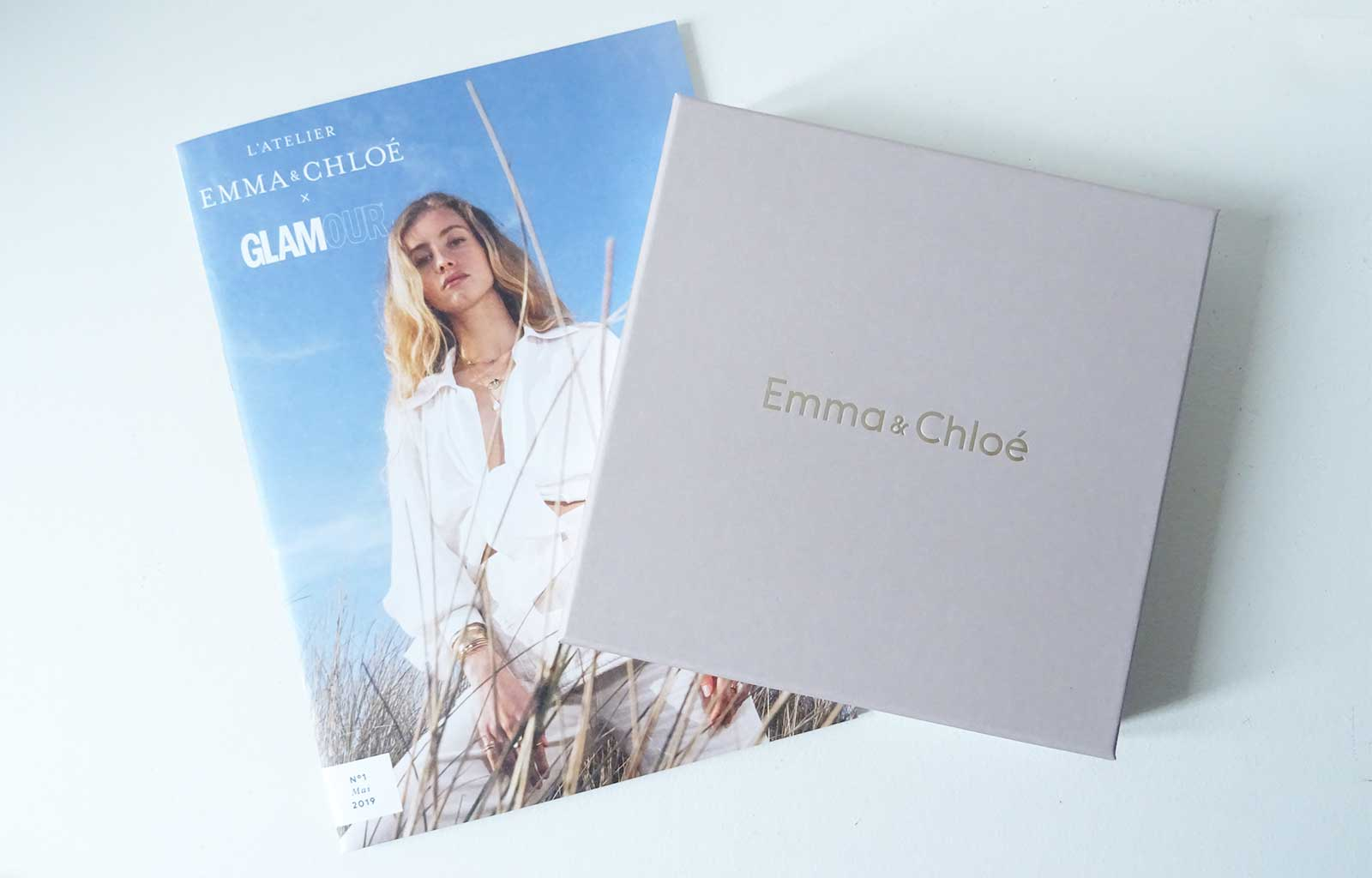 Box Emma&Chloé Mai 2019 Collaboration GLAMOUR