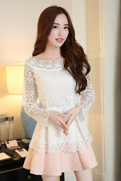 baju dress korea 2017