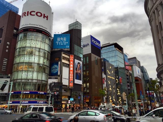 ruta por Ginza