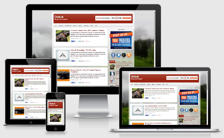Default Blogger Responsive Template