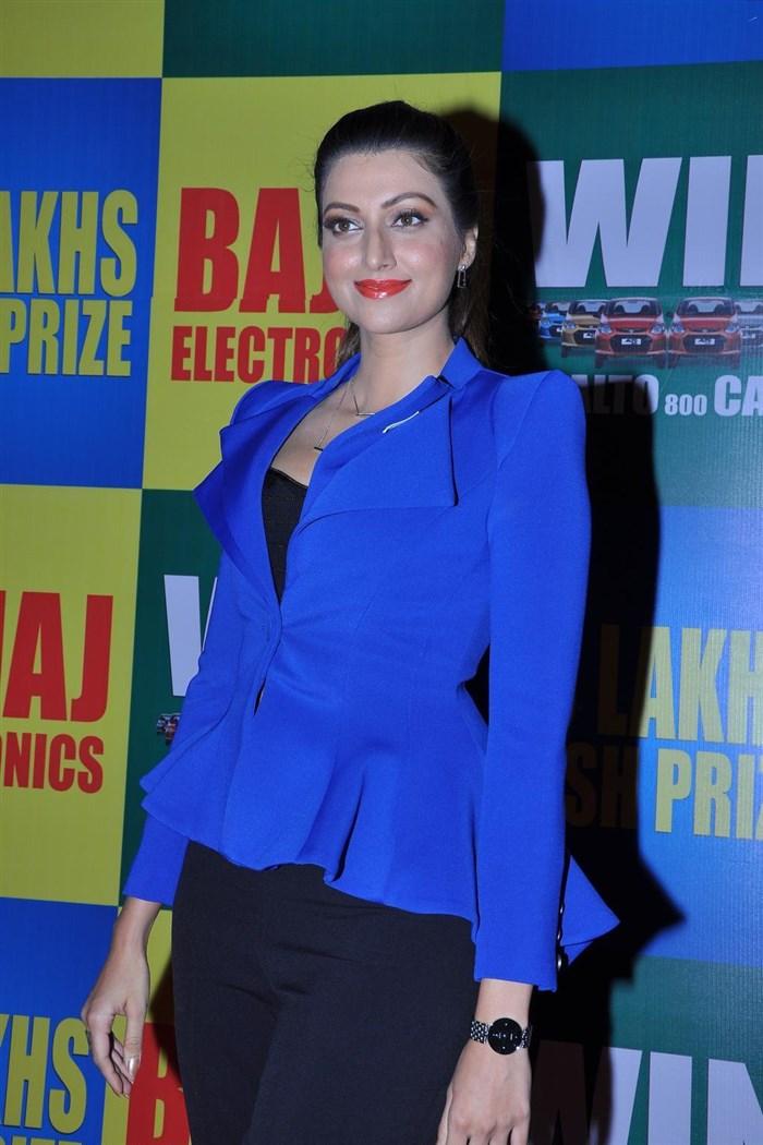 Actress Hamsa Nandini Stills In Blue Dress