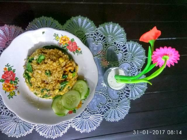 Resep nasi goreng terasi ala rumah makan ciwidey