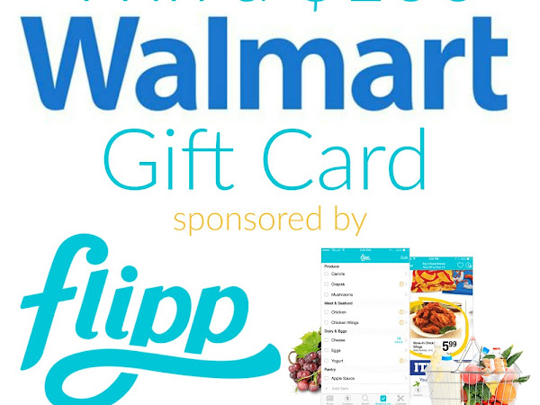 It's a $100 Walmart Gift Card Giveaway! #giveaway