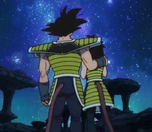 Bardock y Gine, los padres de Goku