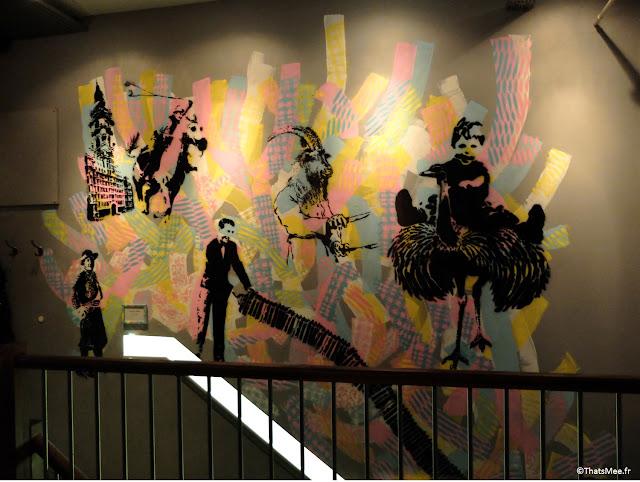 déco Zoilo graffiti restaurant argentin Londres
